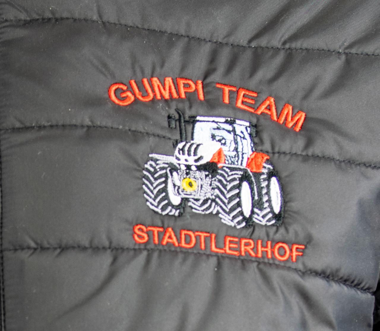 "Steppjacke mit Kapuze Herren ""Gumpi-Team"""